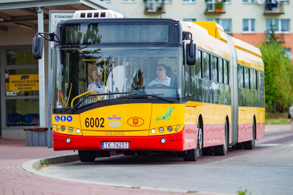 Kielce: Rośnie liczba osób korzystających z komunikacji miejskiej