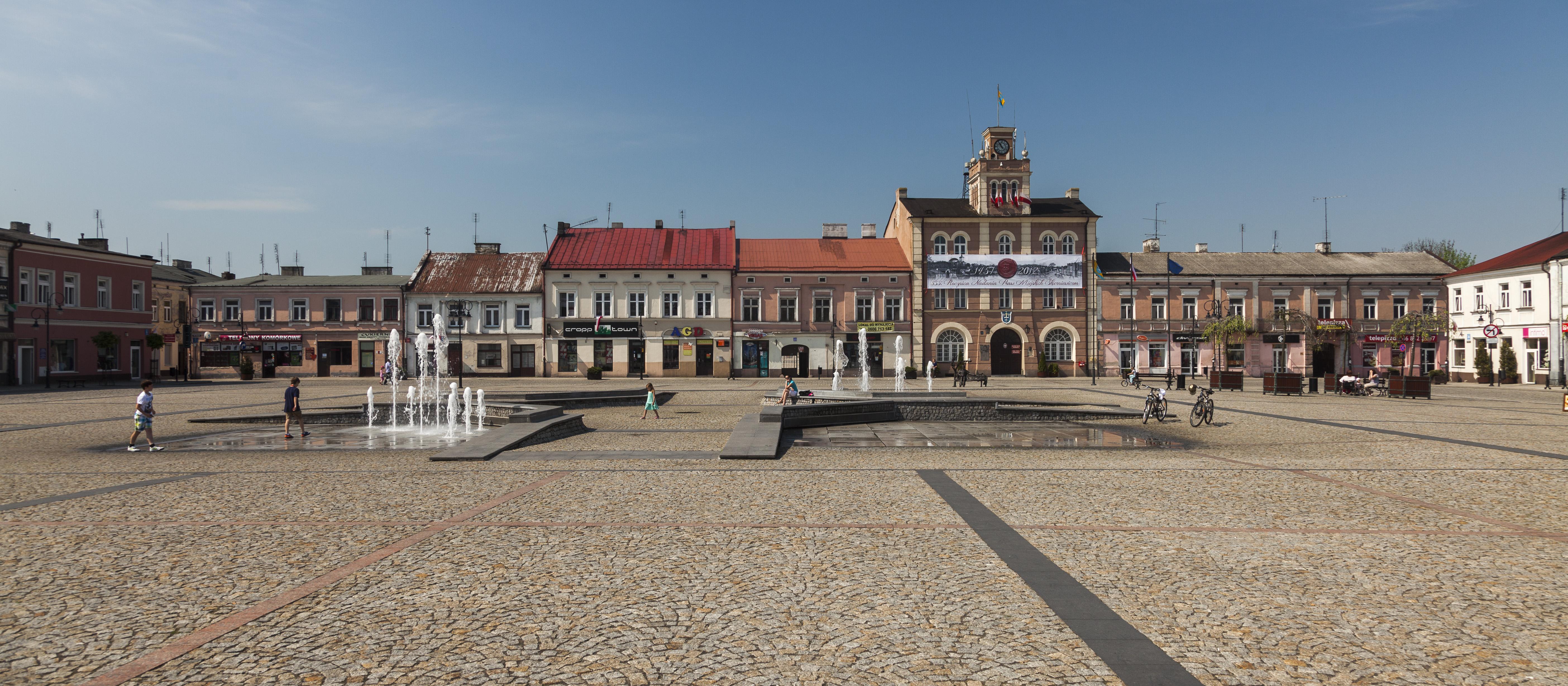 Najbardziej dotkliwie odczuli deficyt wody w ub.roku mieszkańcy Skierniewic (fot.wikicommons)