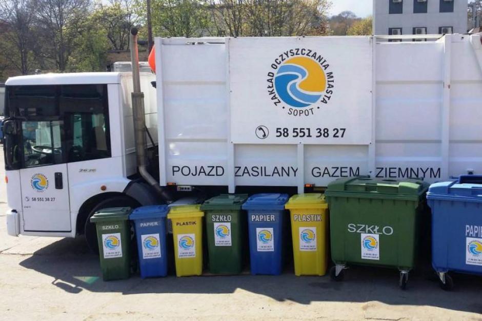 Wyższe ceny za odbiór odpadów w Sopocie. Władze miasta winią rząd
