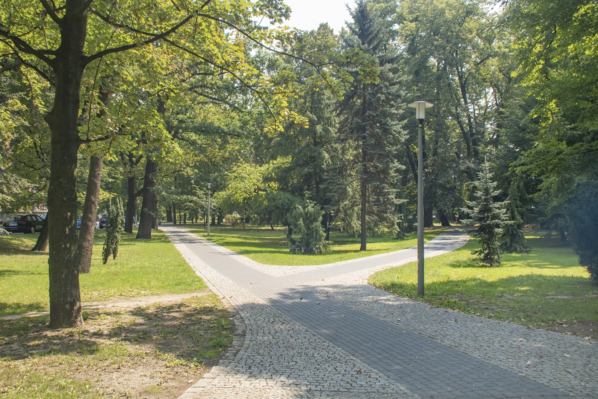 Park w Głubczycach (fot. UMWO)