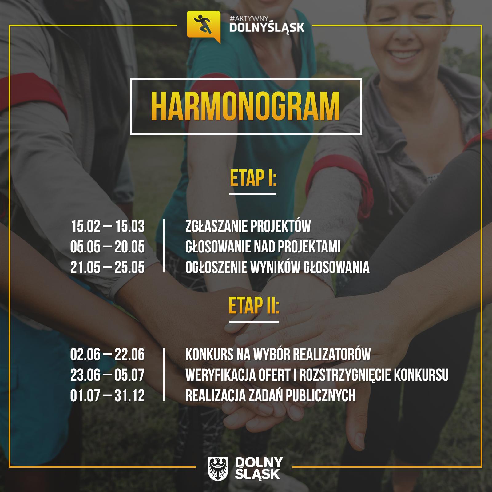 Harmonogram (fot. umwd.dolnyslask.pl)