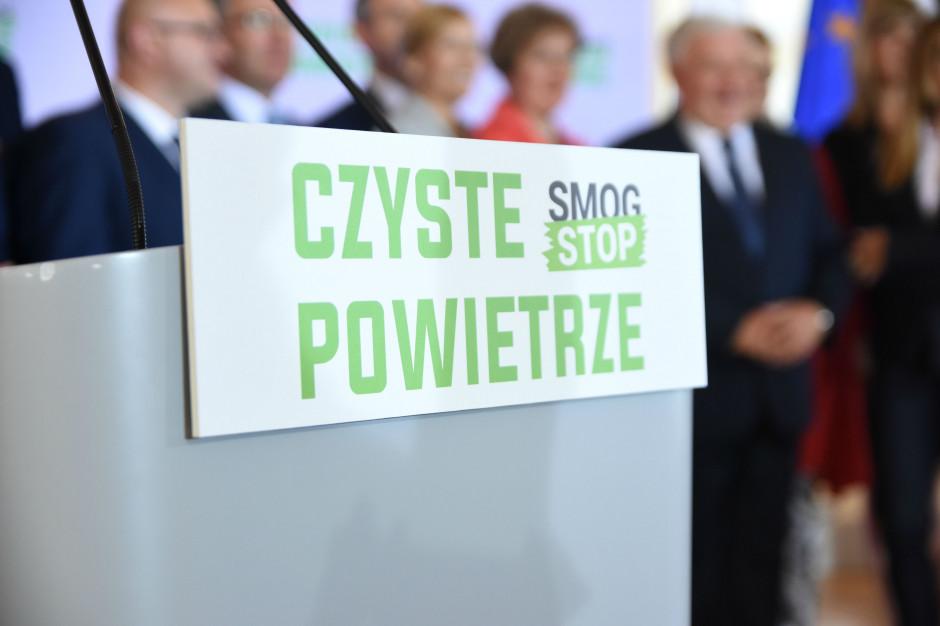 """Punkty przyjmowania wniosków do programu """"Czyste powietrze"""" - w 33 śląskich gminach"""