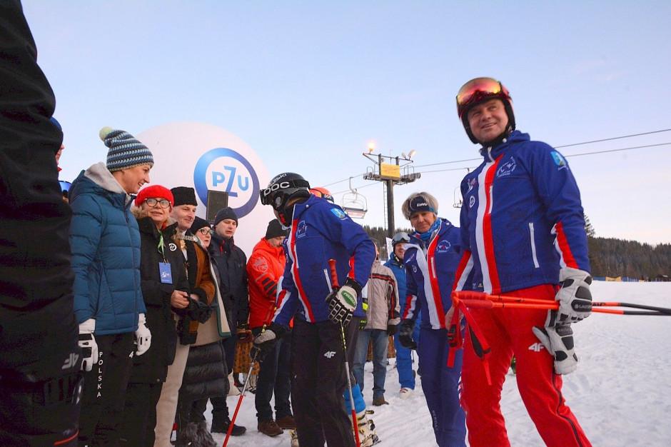 Zakopane: Prezydent Duda zainaugurował charytatywne zawody narciarskie