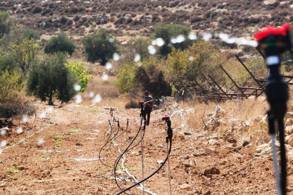 Polacy pomagają budować systemy irygacyjne w Palestynie