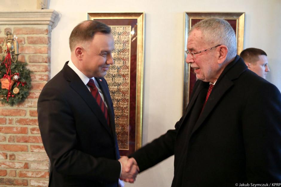 Prezydent: W Krakowie łączność z Austrią ma historyczne znaczenie