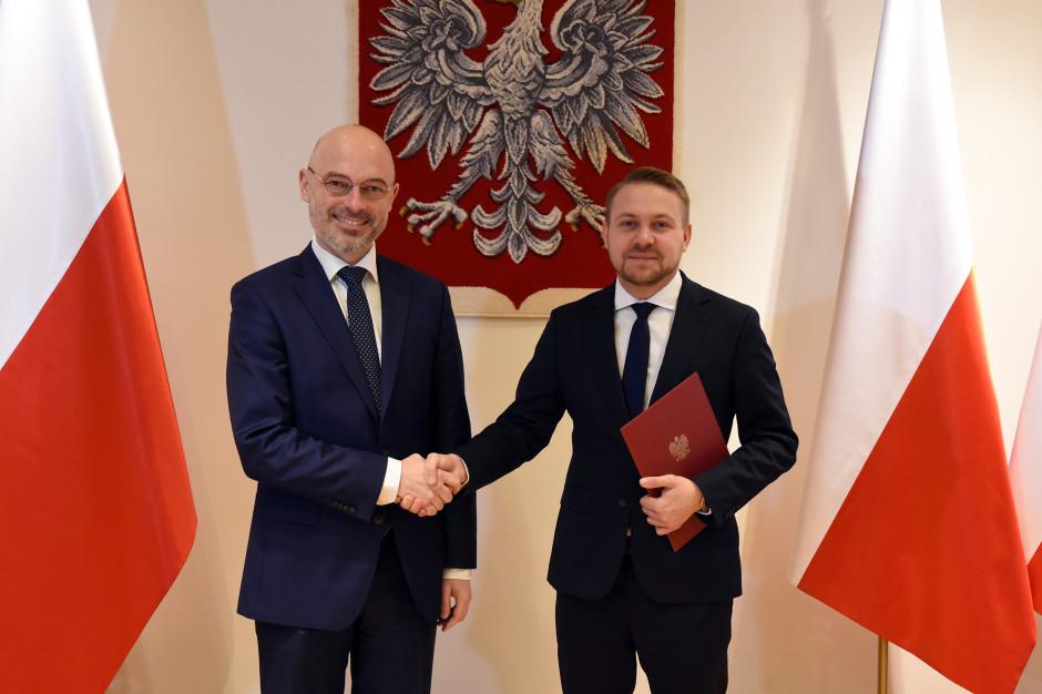 Jacek Ozdoba nowym wiceministrem w Ministerstwie Klimatu