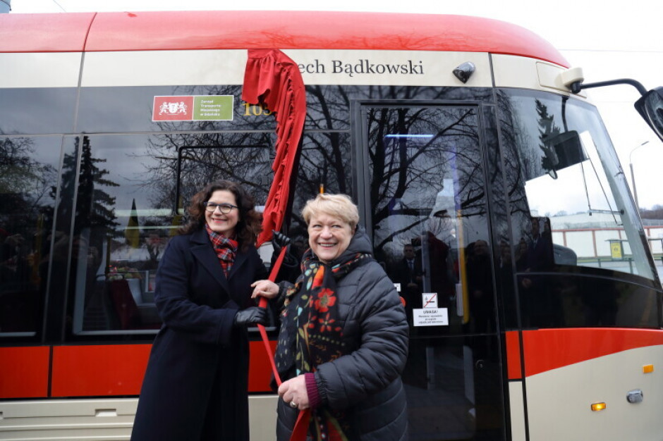 Gdańsk: Lech Bądkowski patronem tramwaju
