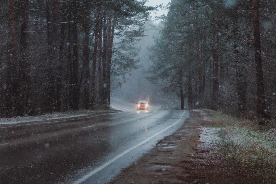 IMGW ostrzega: Silny wiatr i marznący deszcz