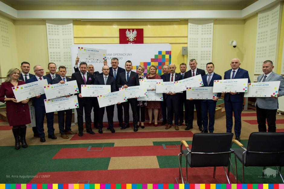 Podlaskie: Samorządy dostały ponad 50 mln zł na projekty rewitalizacyjne