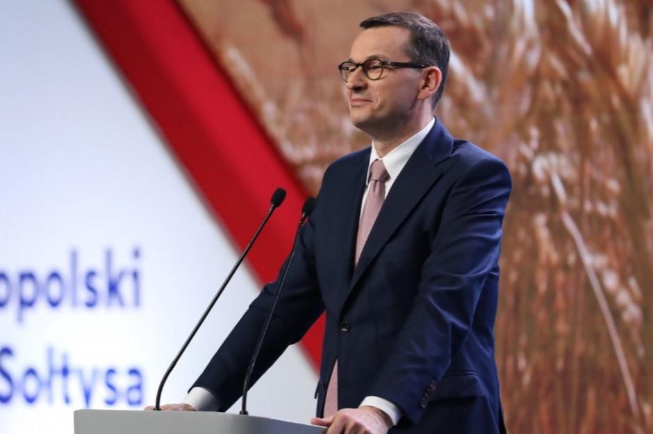 """Morawiecki: mówimy twarde """"nie"""" propozycjom ograniczania polityki spójności i rolnej"""