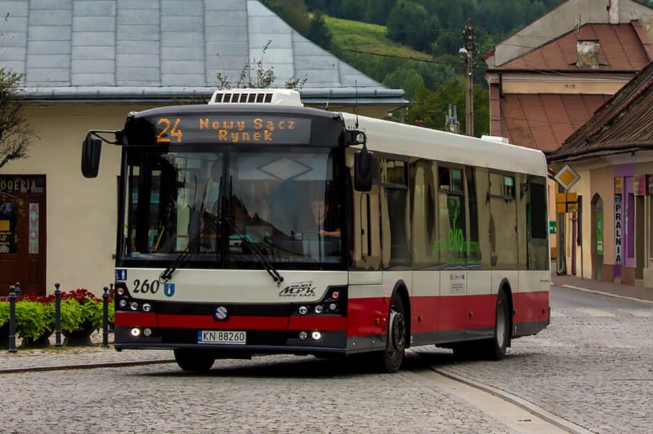 Nowy Sącz: Trzech producentów w przetargu na autobusy zasilane CNG