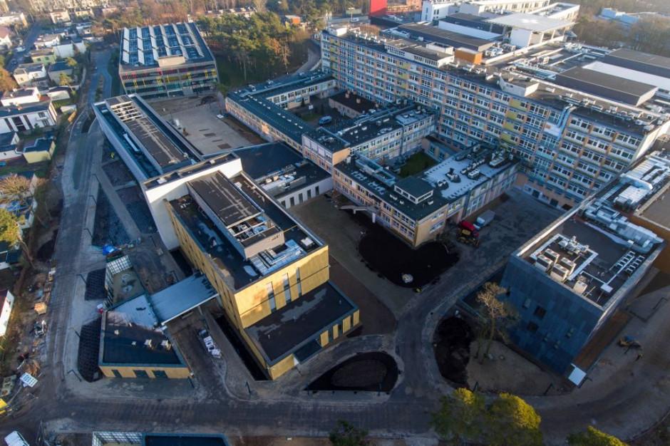 Eko-szpital za 560 mln zł. Zbierze deszczówkę i wyprodukuje prąd