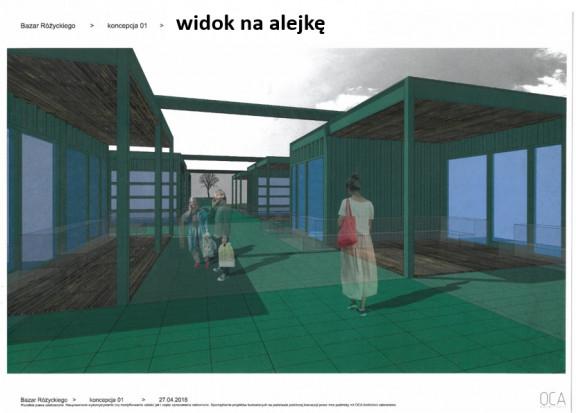 Bazar Różyckiego wizualizacja (fot. mat. prasowe(