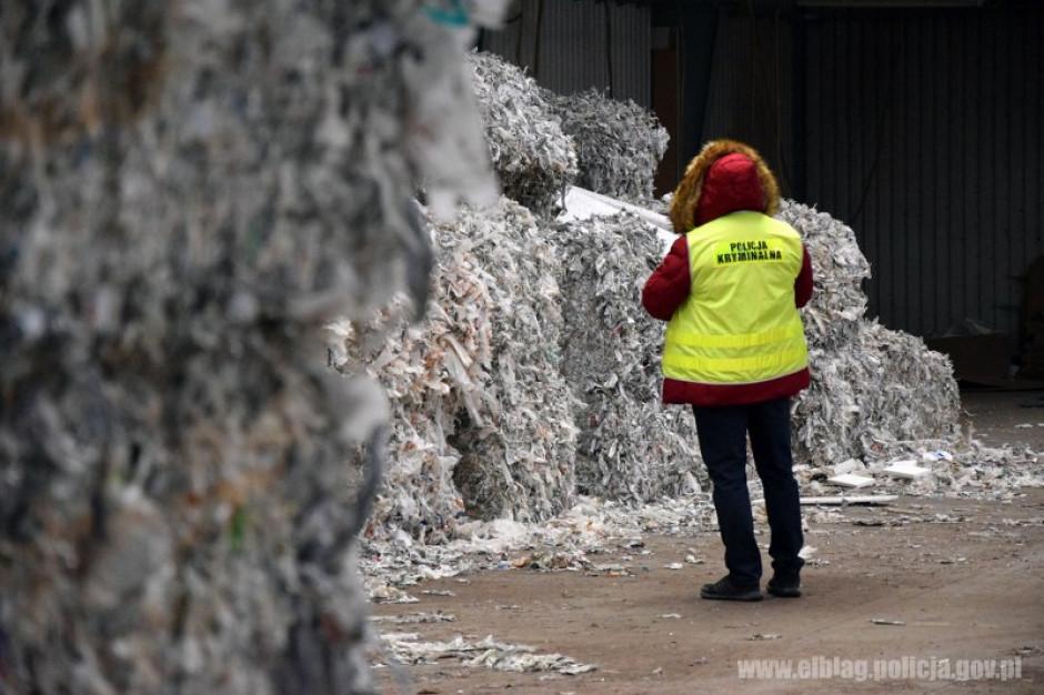 Odpady z Wielkiej Brytanii nielegalnie trafiły do Polski