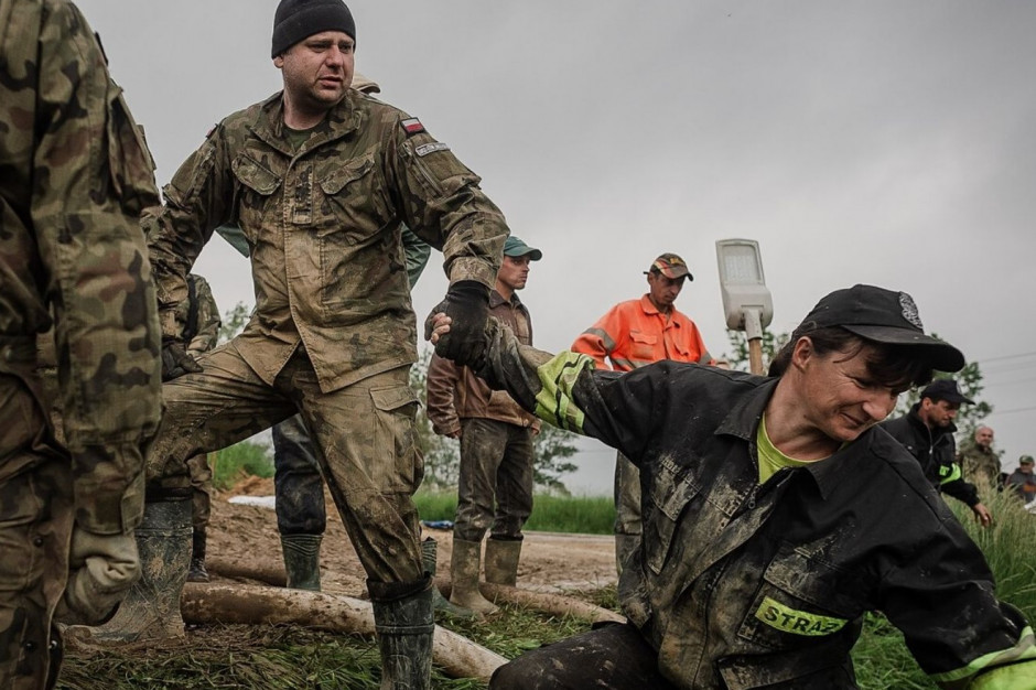 WOT, strażacy i policja będa współpracować w przypadku katastrof i akcji ratowniczych