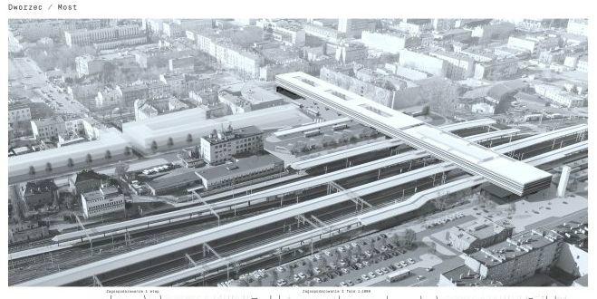 Wizualizacja dworca w Częstochowie(fot. UM Częstochowa)