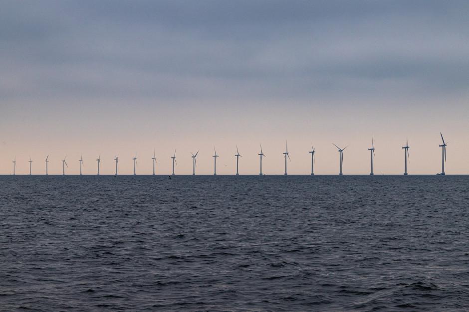 Przybyło wiatraków na morzu