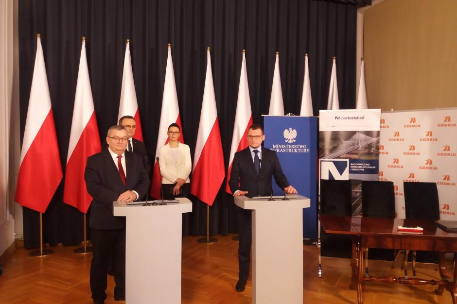 Podpisano umowę na budowę odcinka drogi Zegrze Pomorskie – Kłanino