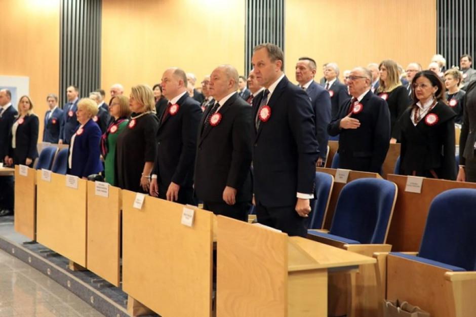 Sesja sejmiku pomorskiego z okazji 100-lecia zaślubin Polski z morzem