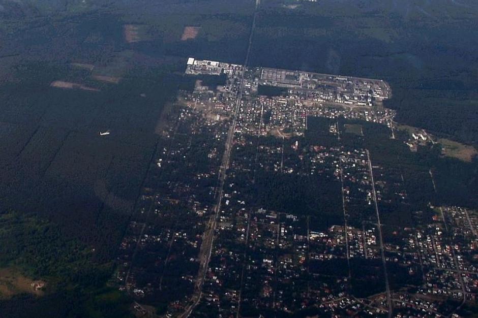 Spór o niezamieszkałe tereny pomiędzy gminą wiejską i miejską