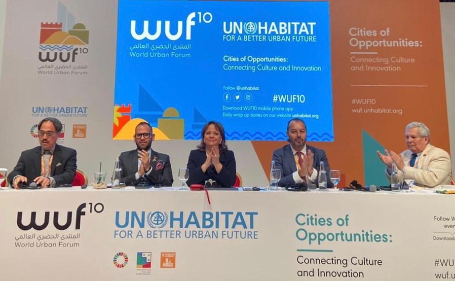 Gospodarzem 10. Światowego Forum Miejskiego było Abu Zabi (fot TT/WWF)