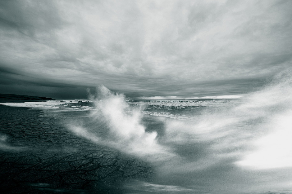 Silny wiatr i wahania poziomu wód w woj. zachodniopomorskim