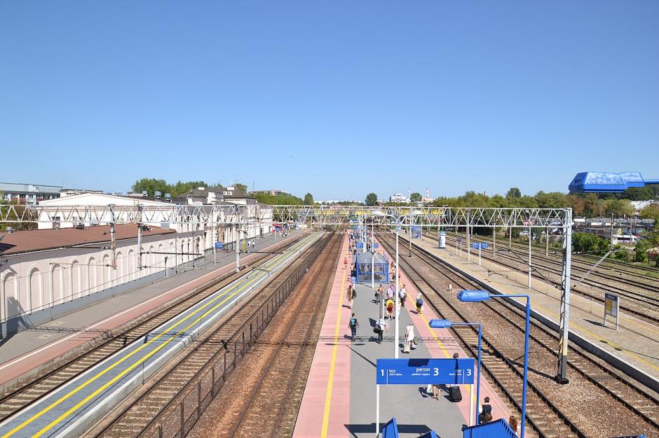 Wojewoda wydał decyzję lokalizacyjną na przebudowę stacji kolejowej Białystok