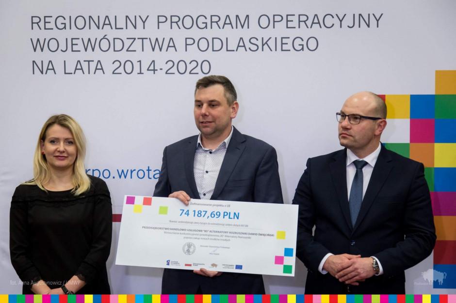 Podlaskie: 7,3 mln zł z UE dla firm na inwestycje na terenie Natura 2000