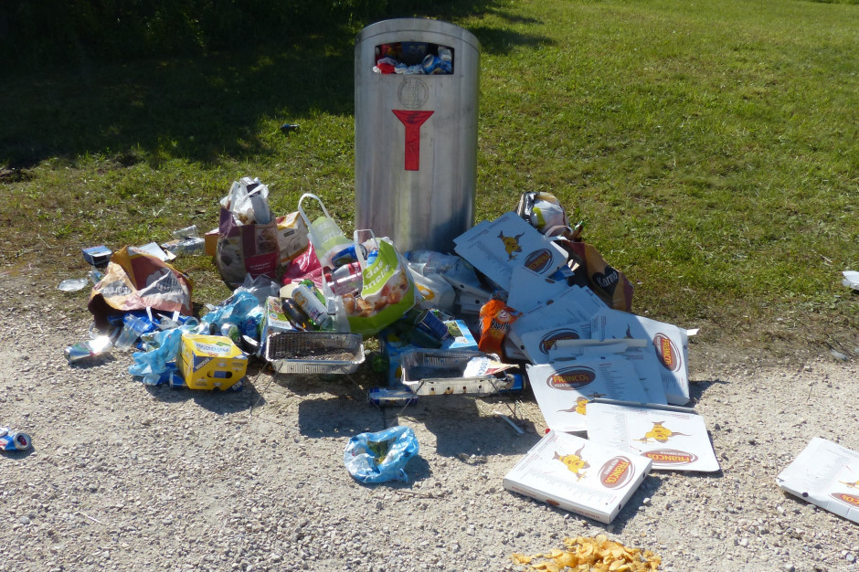 Odpadów jest za dużo. Część nigdy nie trafi do recyklingu