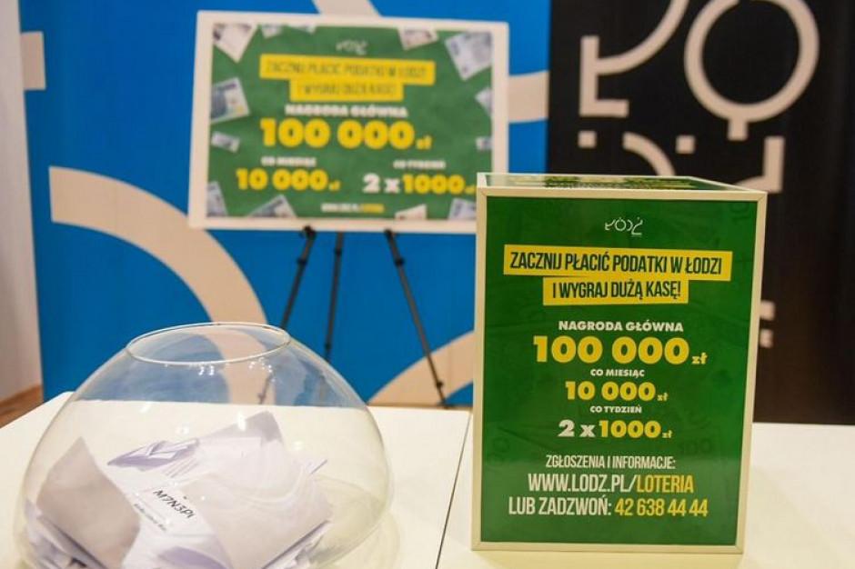 Łódź wyda ponad 200 tys. zł na loterię. Miastu przybyło już ponad 500 podatników
