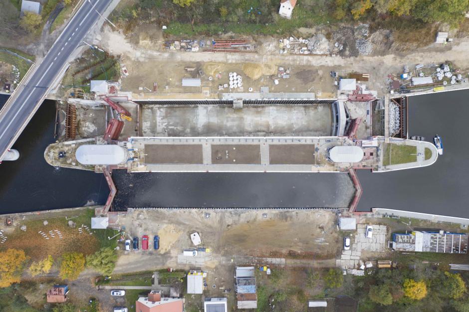 Wody Polskie kontynuują modernizację śluz Kanału Gliwickiego