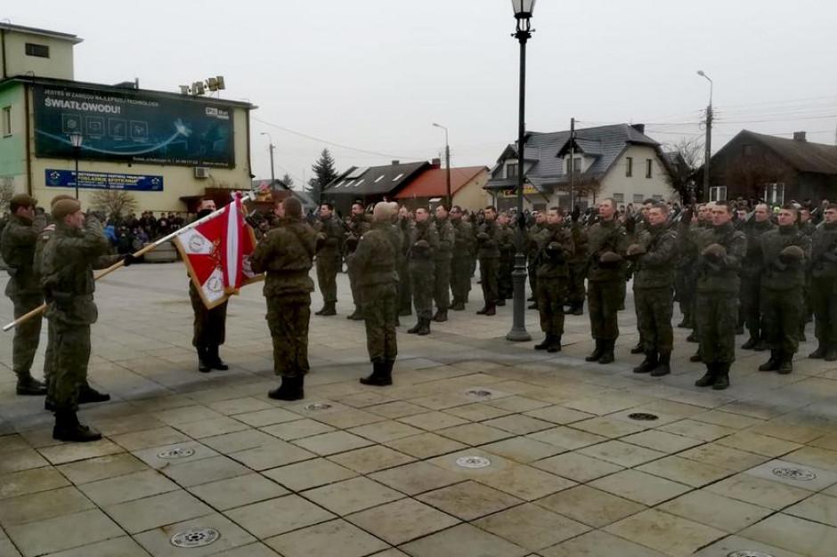 Podlaskie: Nowi żołnierze Obrony Terytorialnej złożyli przysięgę