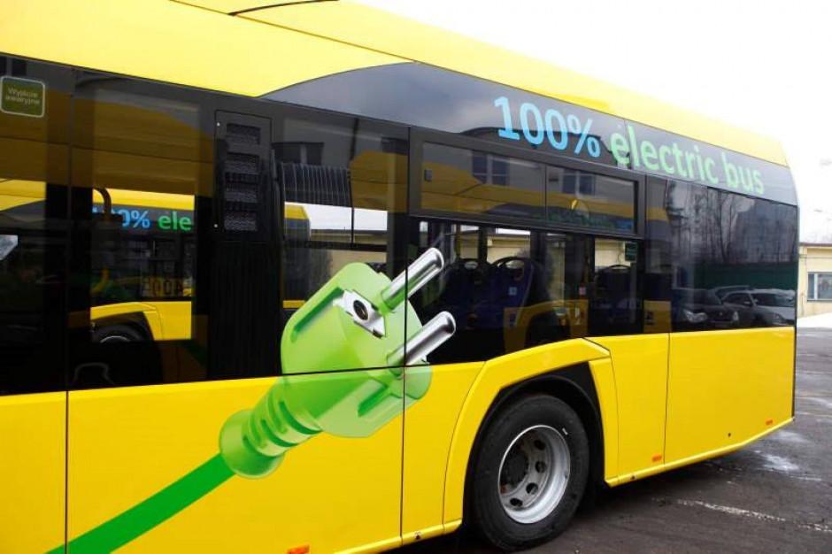 Katowice kupią autobusy elektryczne