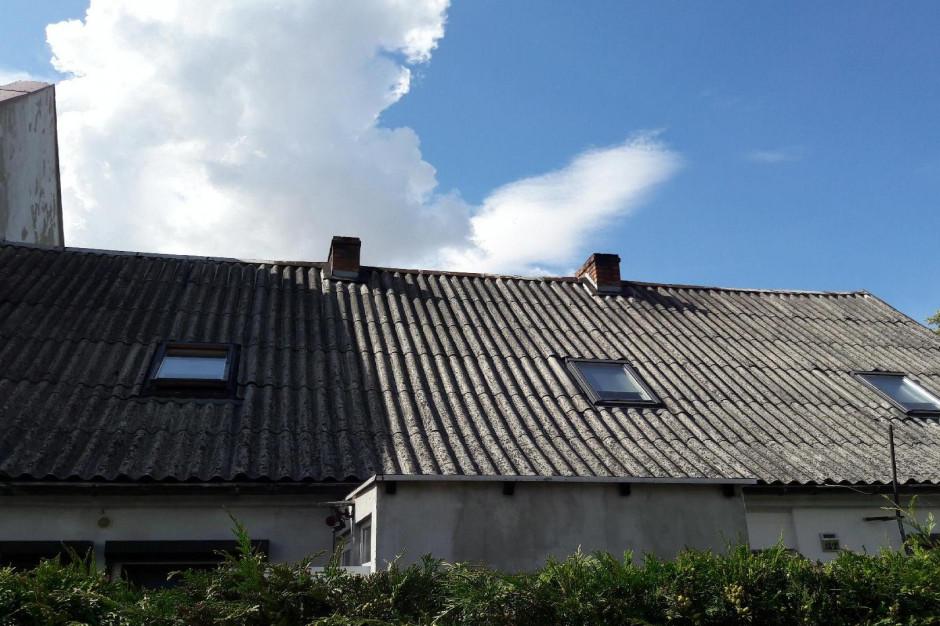 Poznań: Trwa nabór wniosków do programu likwidacji azbestu