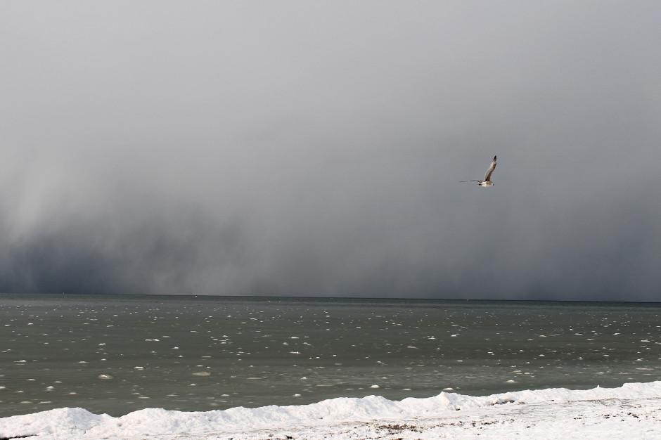 IMGW ostrzega przed sztormem na Bałtyku i silnym wiatrem