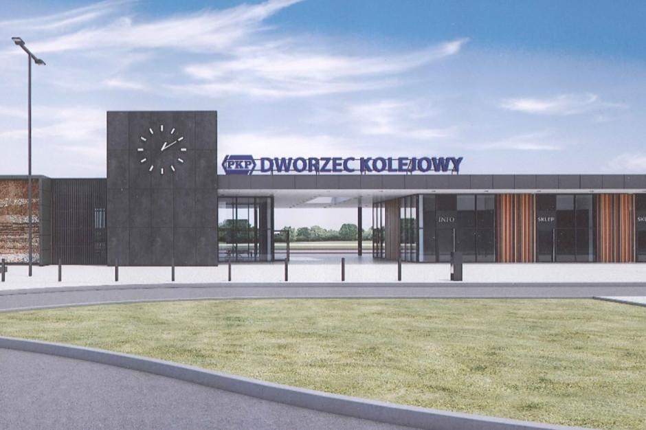 Oświęcim: Nowy dworzec PKP w Oświęcimiu będzie gotowy wiosną