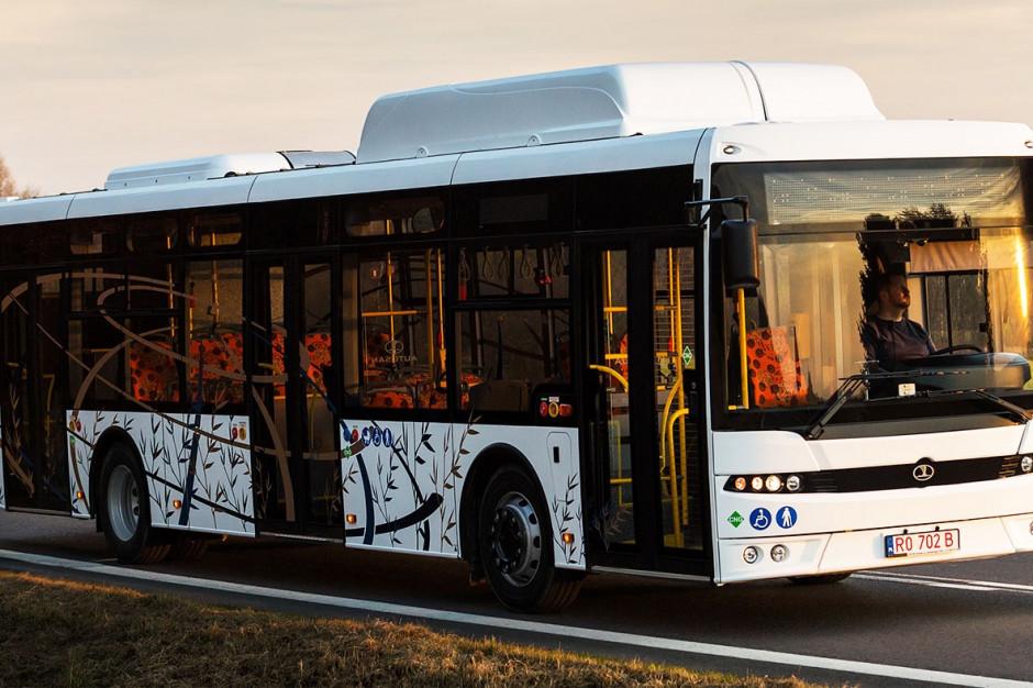 Suwałki kupią 12 autobusów na gaz ziemny