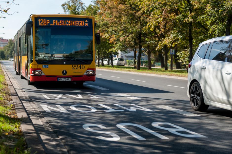 Warszawa: Motocykliści będą mogli jeździć po buspasach