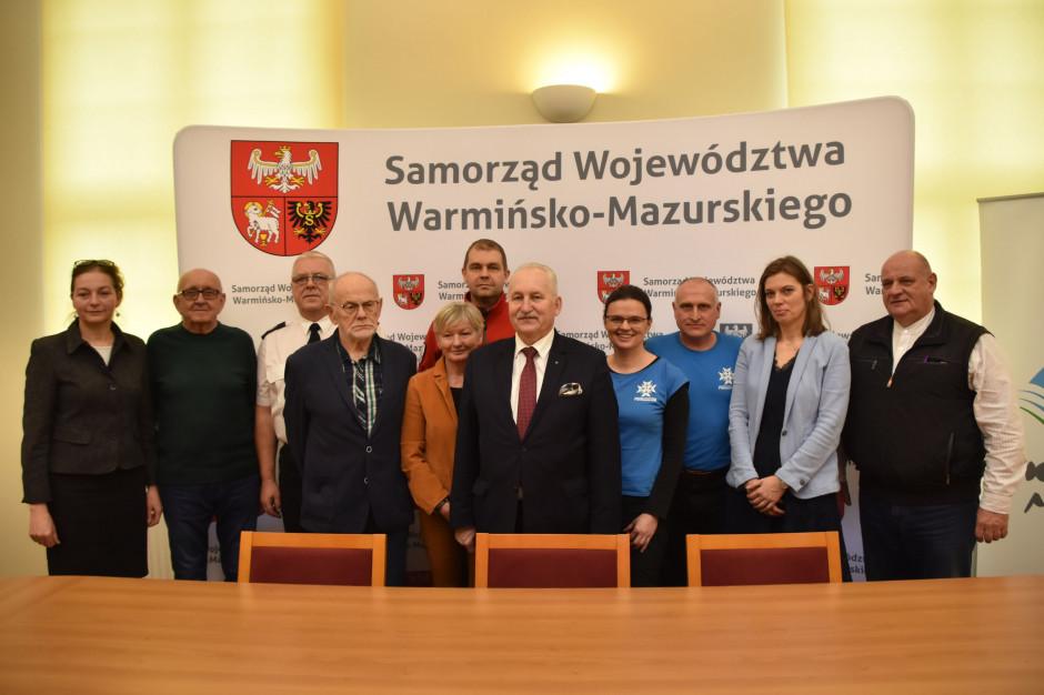 Warmińsko-mazurskie: Samorząd przeznaczy 450 tys. zł na ratownictwo wodne