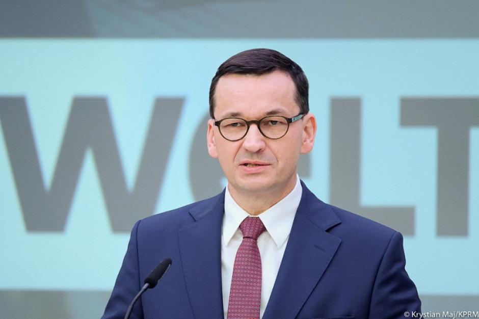 Premier: Sprawiedliwa transformacja energetyczna wymaga inwestycji w infrastrukturę