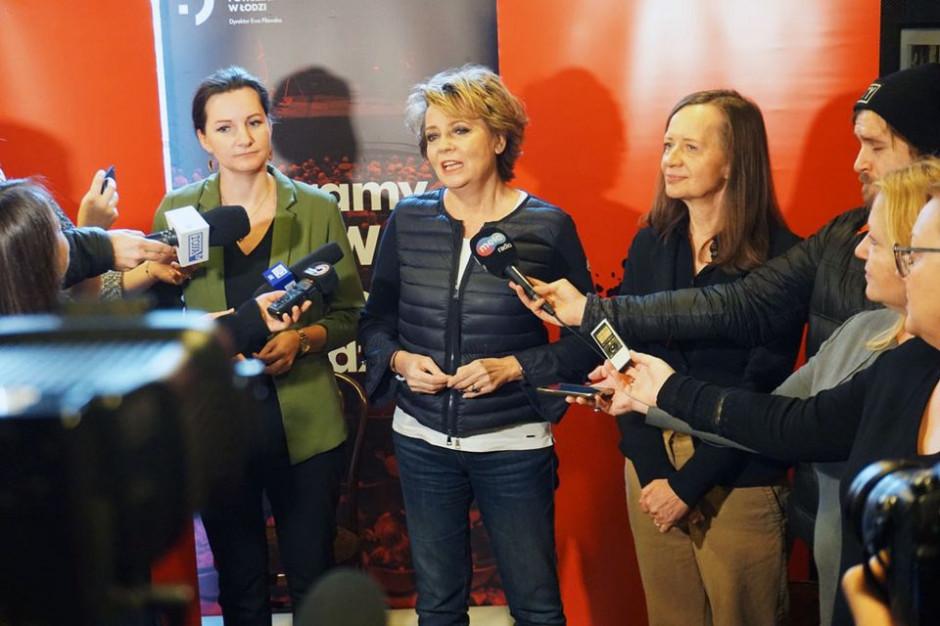 Władze Łodzi chcą, by Ewa Pilawska nadal kierowała Teatrem Powszechnym