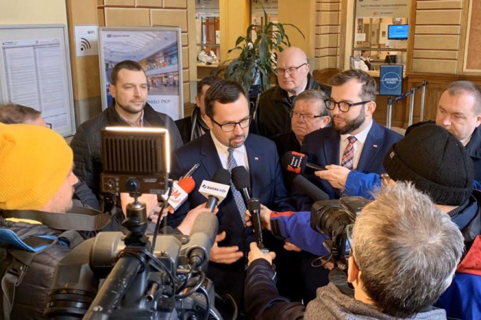 Bielsko - Biała ujęta w siatce połączeń kolejowych do CPK