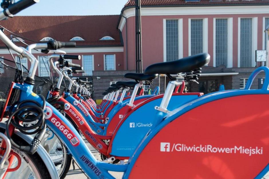 Gliwice zamawiają rower miejski z lokalizatorami GPS