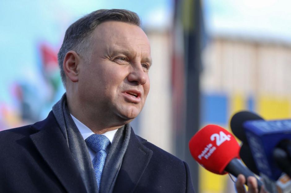 Andrzej Duda spotka się z mieszkańcami pięciu województw