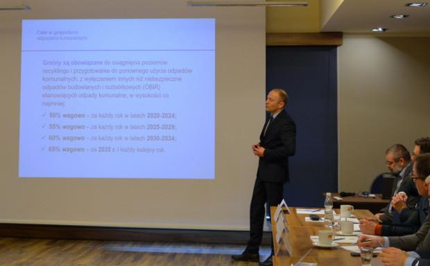 Bogdan Pasko, główny specjalista w referacie do spraw planowania w zakresie środowiska w Urzędzie Marszałkowskim Województwa Śląskiego (fot. ŚZGiP)