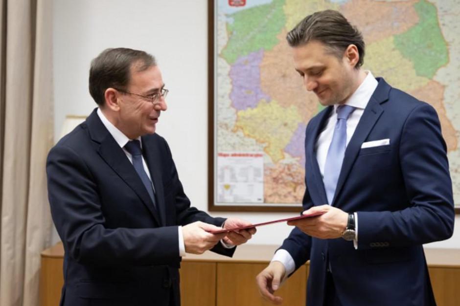 Bartosz Grodecki nowym wiceministrem w MSWiA