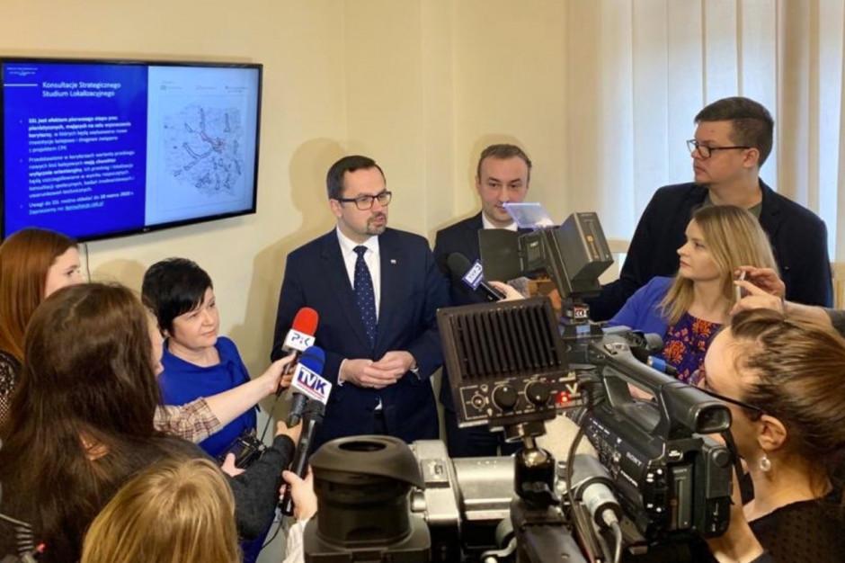 Pełnomocnik rządu ds. CPK: Włocławek jednym z bardziej wygranych miast