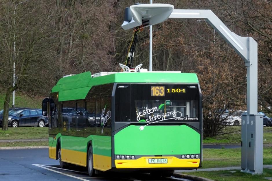 MPK Poznań zamawia ładowarki do e-autobusów