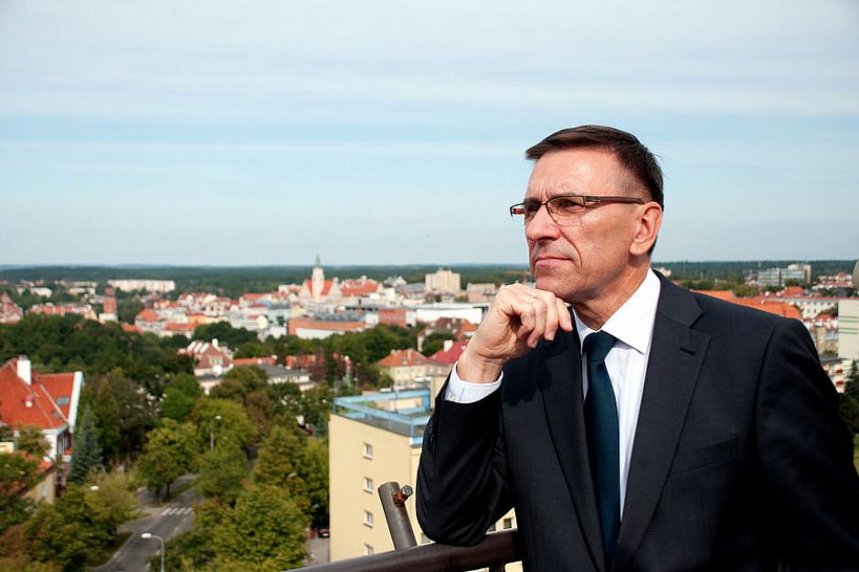 Coraz bliżej referendum w Olsztynie. Piotr Grzymowicz wzywa mieszkańców, by zostali w domu