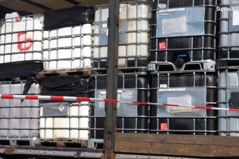 Policja rozbiła grupę zarabiającą na nielegalnym składowaniu odpadów